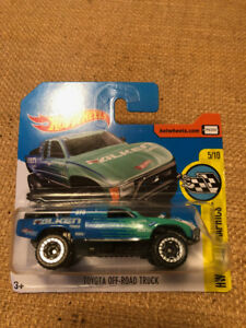 HOT WHEELS TOYOTA OFF ROAD TRUCK PG2SO GREEN