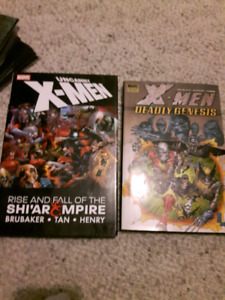X-Men hardcover graphic novel