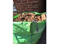 Brick and rubble 1.5 Ton approx