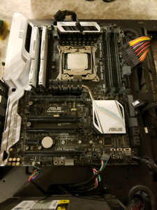 High end motherboard and cpu