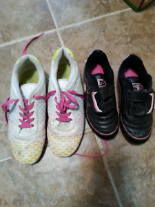Girls soccer cleats. Keds,Old Navy  boots
