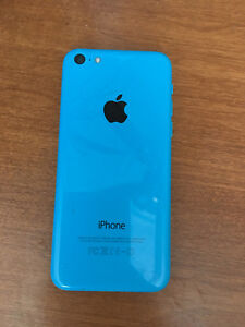 iPhone 5C Blue 8GB with Bell Carrier