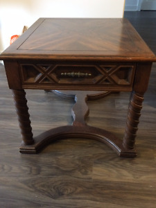 Vintage Coffee Table With Drawer