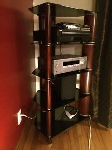 Meuble Audio, stereo cabinet