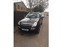 SSANGYONG Rexton Jeep 4x4 .Mercedes engine,Part exchange welcome!