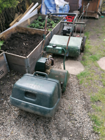 Atco cylinder lawnmower for spares or repair