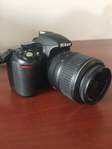 Used Nikon D3100 DSLR Camera with 18-55mm lens