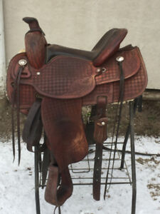 Grant Willis Handcrafted Saddle