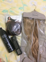 BELLAMI 22'' dirty blonde remy clip-in hair extensions
