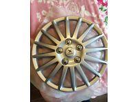"13"" Peugeot wheel trims"