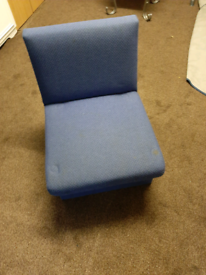 Blue sofa chair