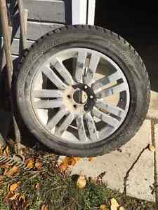 Winter Tires (Blizzak's ) + Rims for sale