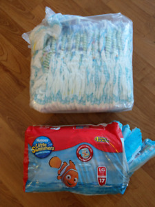 4T/5T diapers and large swim diapers