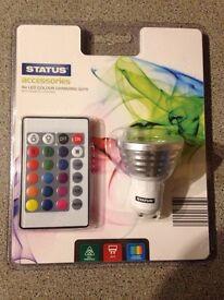 4W GU 10 RGB LED Bulb