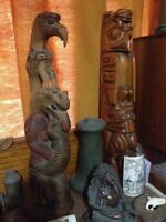 Collector Buying Native Indian / 1st Nations Art & Artifacts