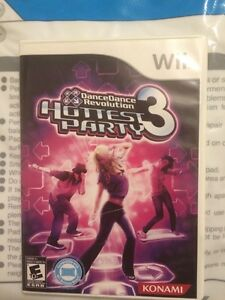 Dancing game for the wii