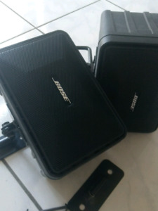 BOSE 101 Speakers Pair with wall mounts