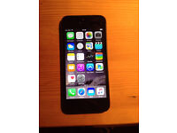 iPhone 5 64gb grey on EE