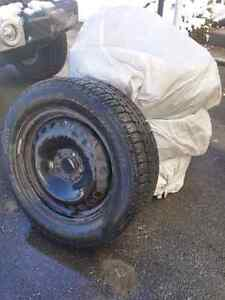 Winter Tires on Rims! Great Condition!!! West Island Greater Montréal image 2