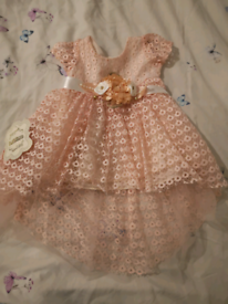 Beautiful baby dress size 6-9months