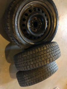 For winter tires with sensors