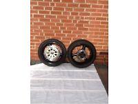 Set of wheels and discs Kawasaki zx9r