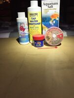 Selling betta food and water treatment