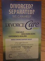 DivorceCare-13 week course