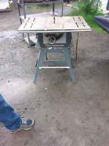 Table saw $50