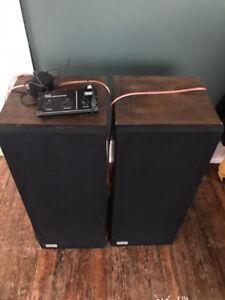Speakers and Stereo Amp