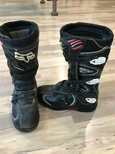 Youth Size 5 Fox Comp 5 Motocross Boots
