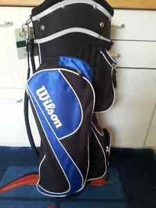 Wilson Blaze Golf Clubs - Hybrids and Golf Pride Grips and Bag