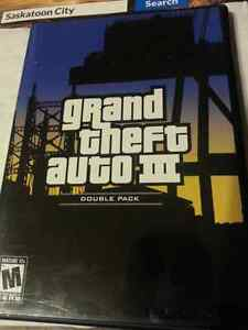 Grand Theft Auto III ps2 Rockstar games