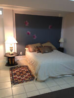 Large Furnished  Basement Apartment in Vaughan