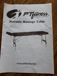 Portable massage table new