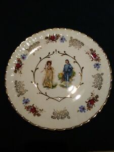 Pink & Blue Boy Avon Woods PLate