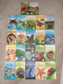 Usborne Spotters Guide collection