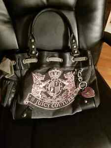 Juicy Couture Handbag Velore BRAND NEW WITH TAGS Grey/Pink