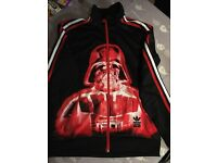 Adidas Star Wars Tracksuit Top, 13-14 years