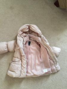 Gap Snow Jacket 12-18 months