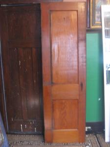 "antique 112yr old solid fir ""Drake"" 2panel Pantry/Closet Door"