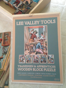 6 Puzzles - Lee Valley Tools
