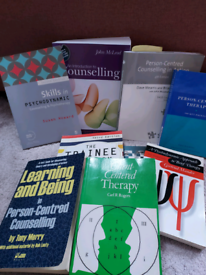 Pile of Counselling Books