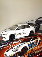RC HPI Sprint 2 Drift Car Mint Like New! Lipo included