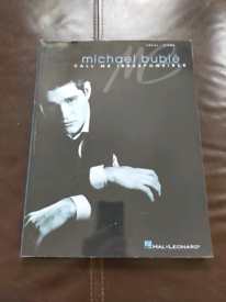 Michael Bublé Call Me Irresponsible Piano Vocal Sheet Music