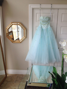 Alfred Angelo Tuile  prom or bridesmaid gown size 2