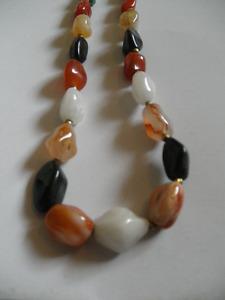 Vintage semi-precious stone necklace