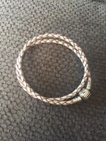 Pandora double leather champagne