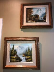 2 Scenic Paintings