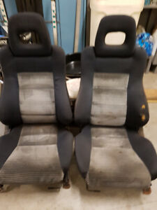 1988-89 Civic Si / CRX front seats
